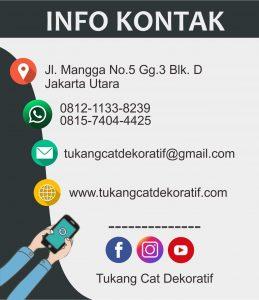 info kontak tukang cat dekoratif