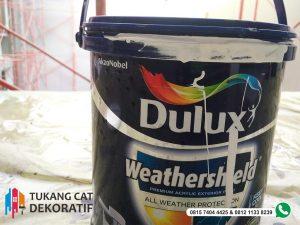 cat dulux untuk pengecatan wash